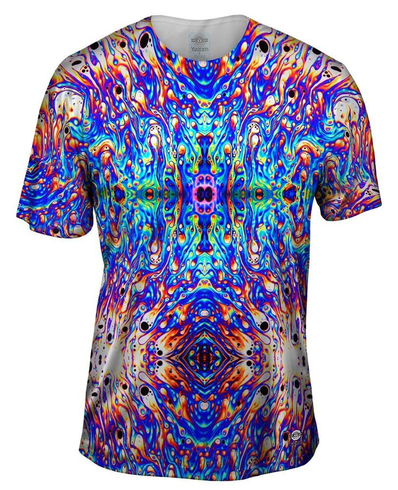Yizzam psychedelic neon soap party violet new men for Best detergent for dress shirts