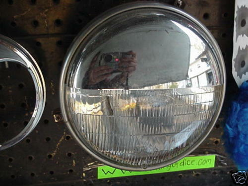 """Truck Grill Guard >> HALF MOON HEADLIGHT COVERS CUP STYLE 7"""" STICK OUT 
