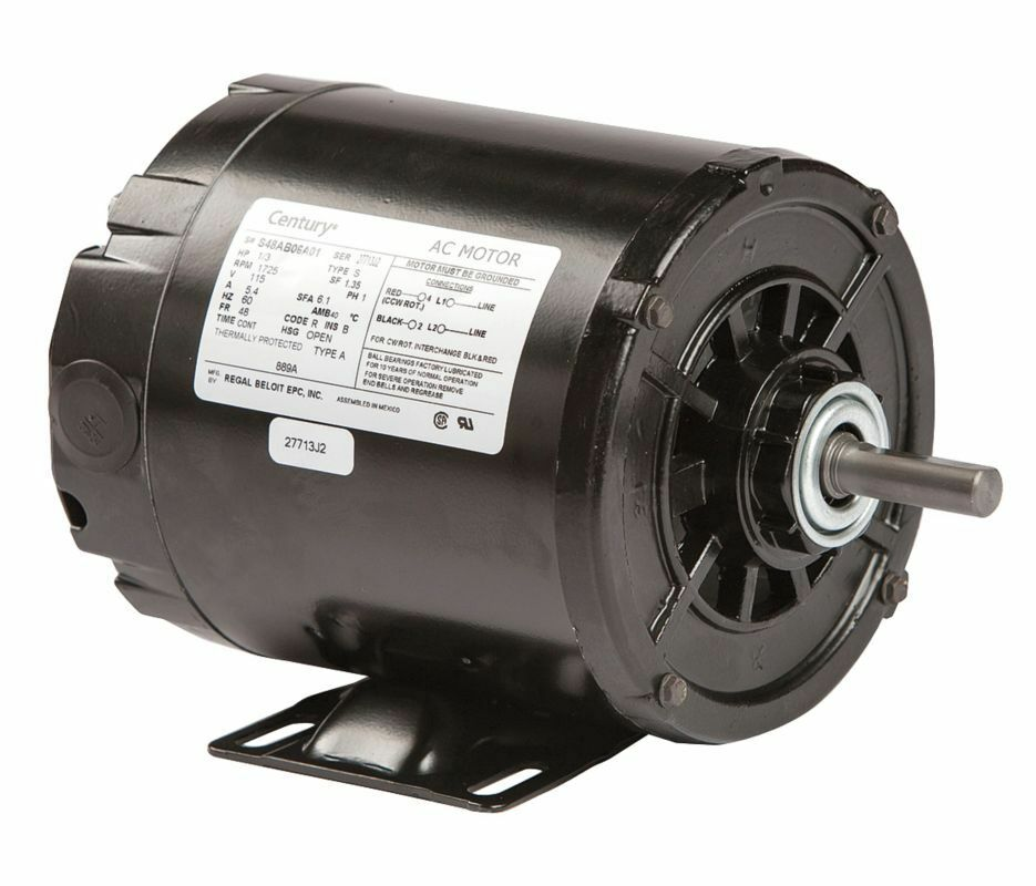 1 3 hp 1725 rpm 48 frame 115v split phase rigid base motor for 3 phase 3hp motor