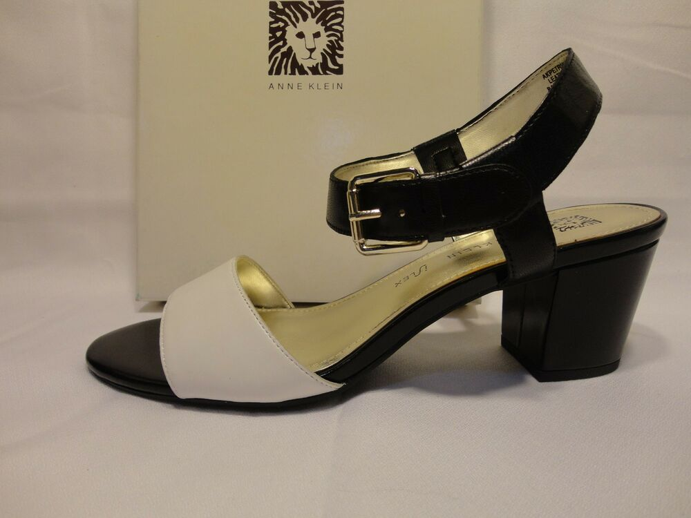 Anne Klein Shoes Black And White