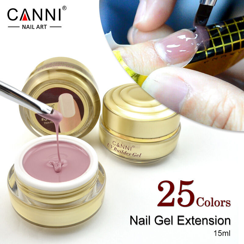 Nail Extensions Gel: CANNI Nail Extension Gel /thick Builder Gel Natural