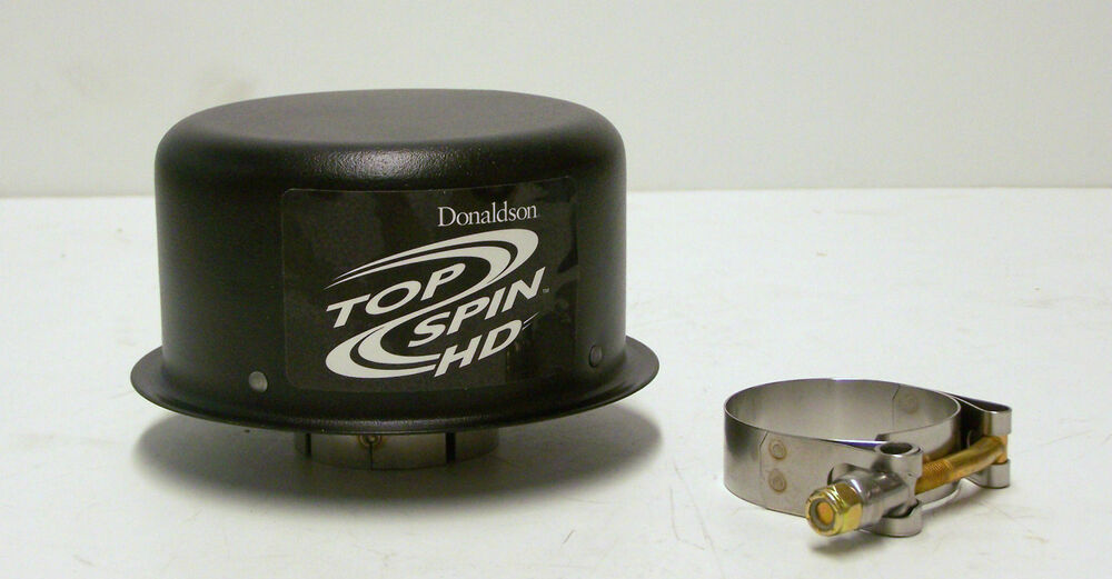 Donaldson Air Cleaner Tops : H donaldson pre cleaner topspin hd quot inlet