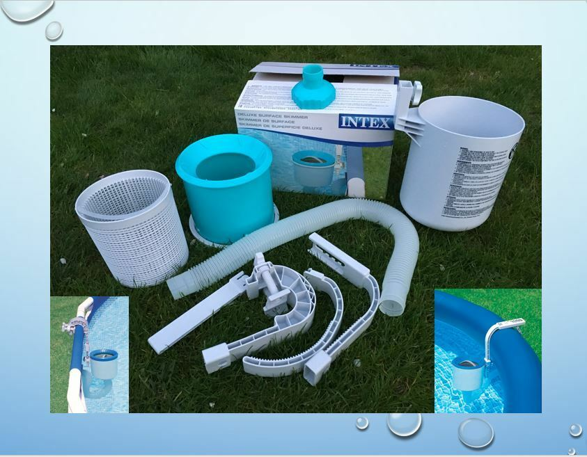 intex skimmer easy frame pool deluxe oberfl chenskimmer filter k ebay. Black Bedroom Furniture Sets. Home Design Ideas