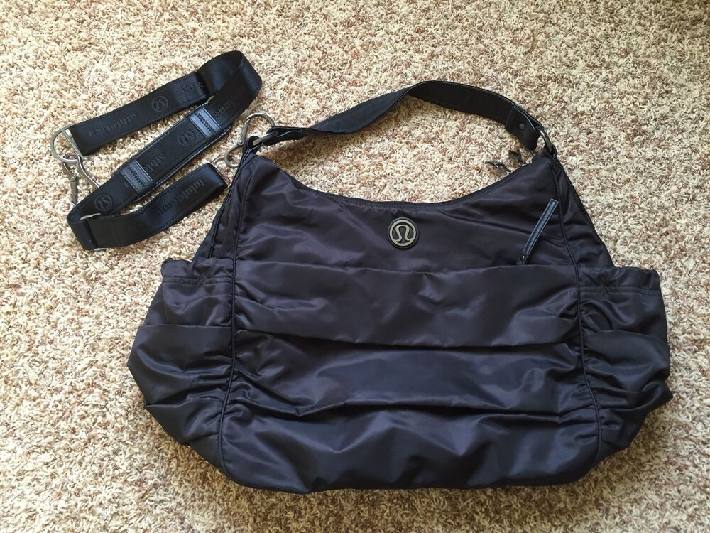 Lululemon Arabesque Bag - BLACK Large Gym Bag Yoga Tote