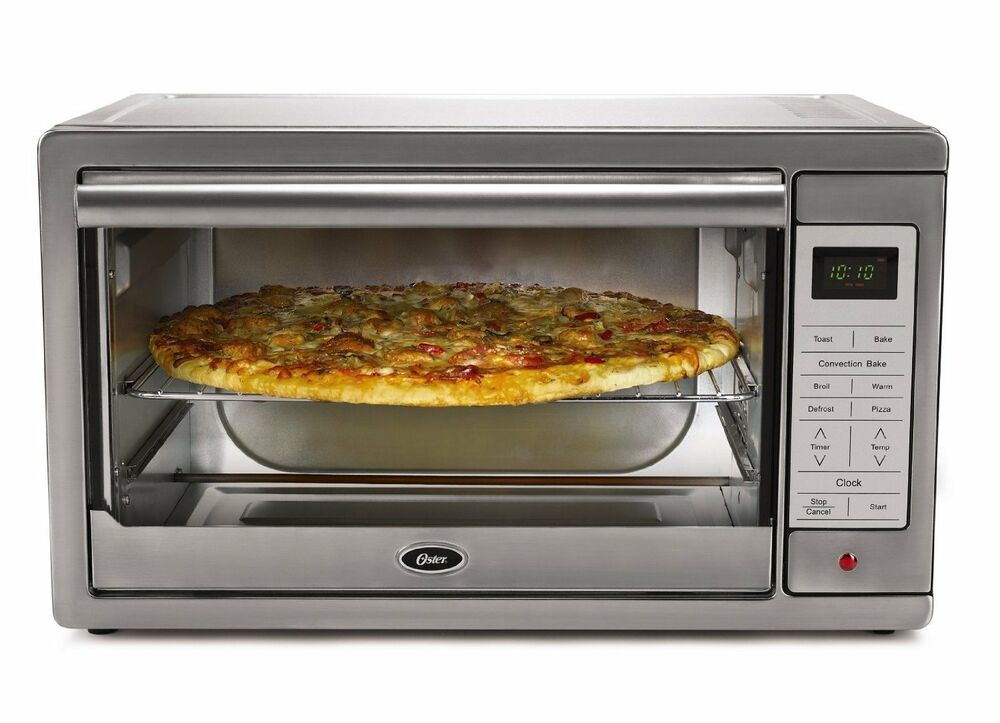 Oster Countertop Oven Tssttvcg02 : Oster Tssttvxldg Extra Large Digital Toaster Oven Stainless Steel ...