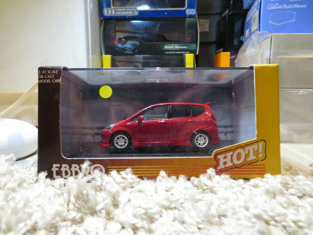 1 43 honda mugen fit jazz diecast ebay. Black Bedroom Furniture Sets. Home Design Ideas