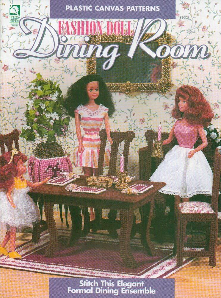 New Fashion Doll Dining Room Furniture Table Chairs