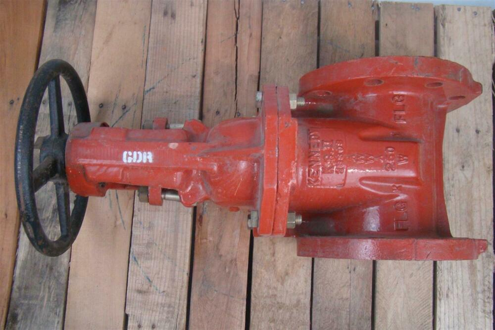 Kennedy Class 250 Awwa 4 Quot Gate Valve Ul Fire Rated Ebay