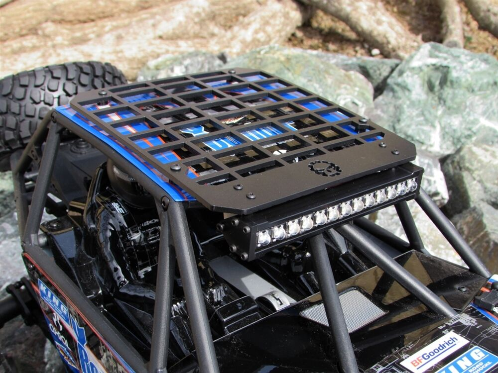 Gear Head Rc 1 10 Scale Bomber Slim Line Roof Rack With
