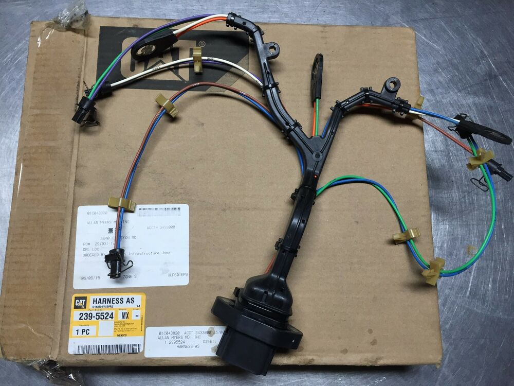 s l1000 2395524 cat wiring harness caterpillar 239 5524 ebay cat c15 injector wiring harness at readyjetset.co