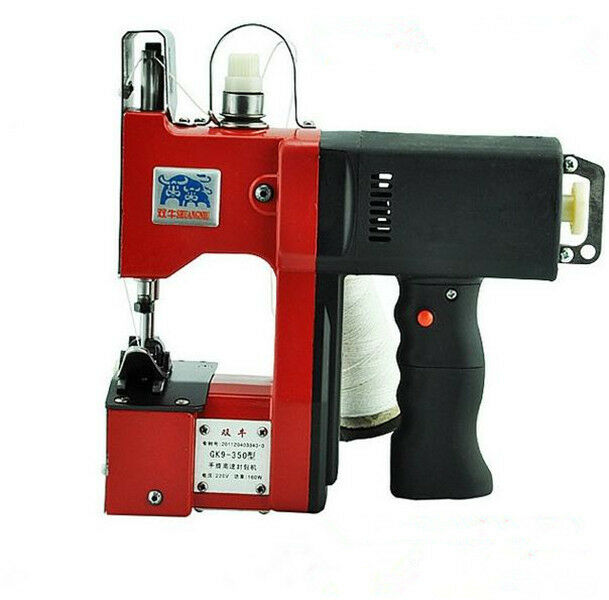 Baling Wire Tools : Industrial portable bag closer stitching sewing machine