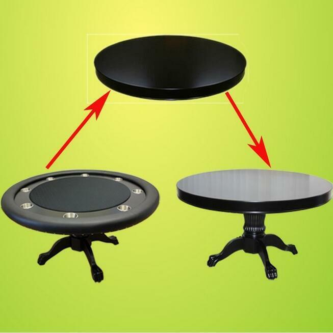 Mrc Poker Table The Mystic Round Table Solid Wood Legs