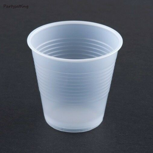 5oz. clear translucent cups bulk 2400ct plastic party cups ...