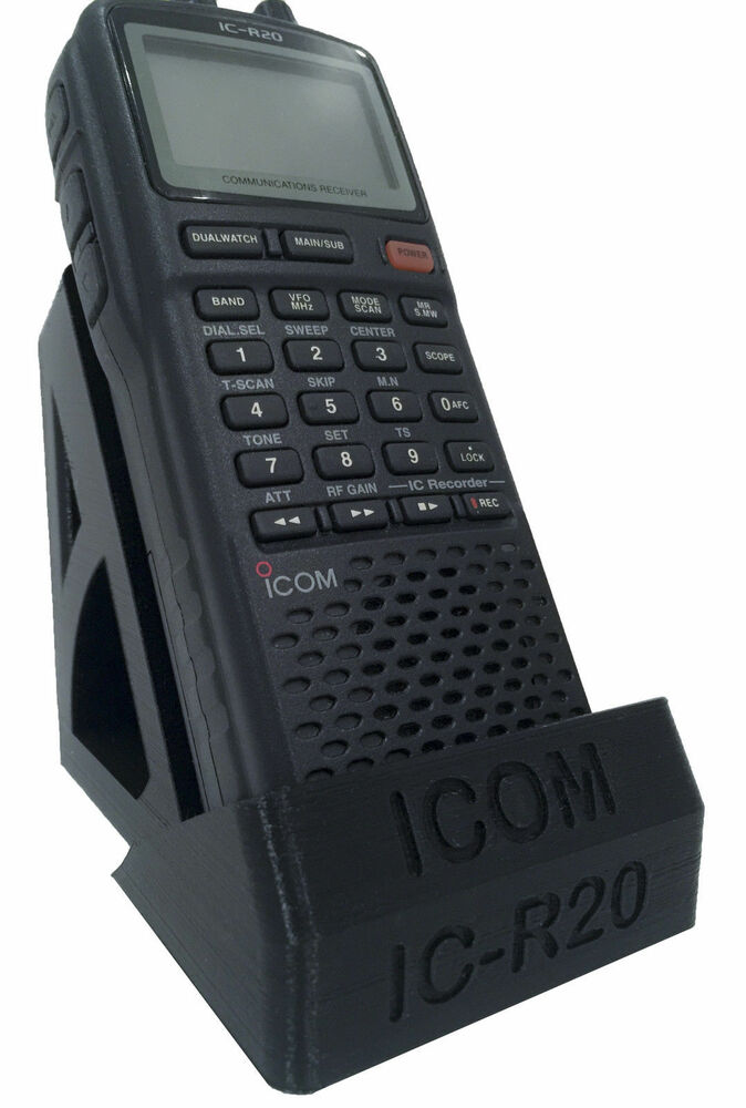 Desktop Stand ICOM IC-R20 Hand Held Scanner/Receiver ...