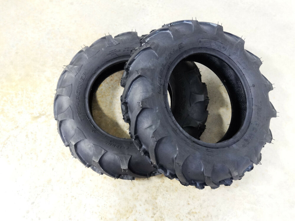 Ag Tires For Tractors : Two carlisle tru power tractor lug tires ply