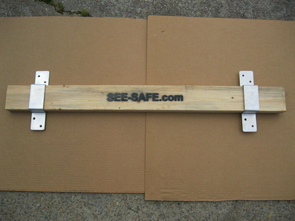 See Safe Security Door 2x4 Board Complete Set Closed Bar 2