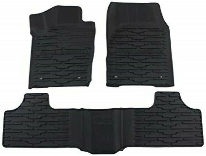 2013 2015 Jeep Grand Cherokee Slush All Weather Floor Mat