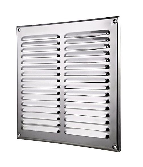 Stainless Steel Duct Grille : Stainless steel air vent grille mm ducting