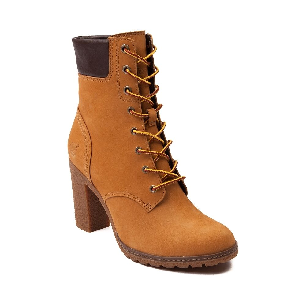 9baa5fce562 Details about Women s Timberland Earthkeepers Glancy 6-Inch Boots Wheat  8715A