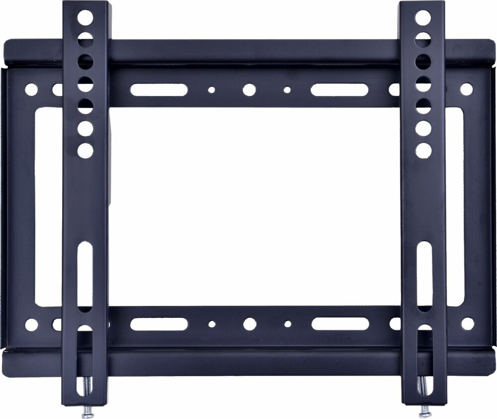sales fixed flat screen bracket tv wall mount 14 32 tv screen ebay. Black Bedroom Furniture Sets. Home Design Ideas