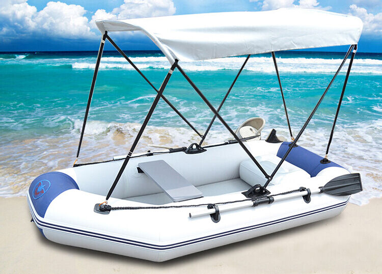 Inflatable Boat Fishing Raft Tender Dinghy Travelling 3 ...