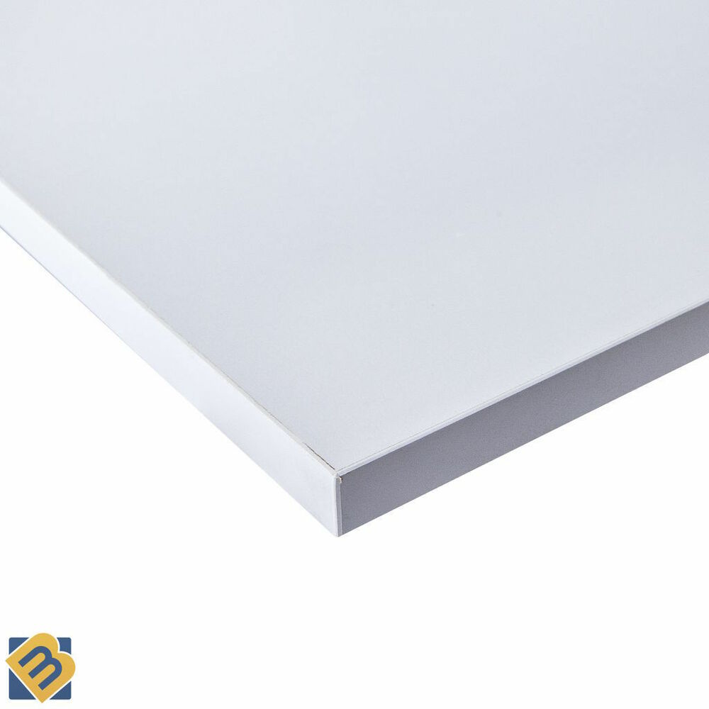 White faced mdf melamine board sheets