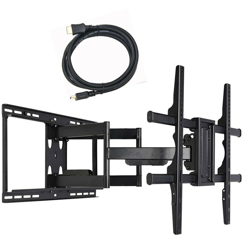 full motion tv wall mount 39 40 42 43 47 48 50 55 60 65 70 led uhd lcd tilt c0z ebay. Black Bedroom Furniture Sets. Home Design Ideas