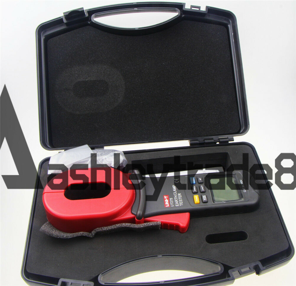 Electrical Leakage Tester : Uni t ut earth ground resistance clamp leakage current