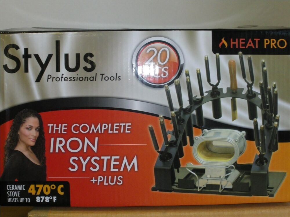 Heat Pro Stylus 20 Pcs Professional Iron System With Stove