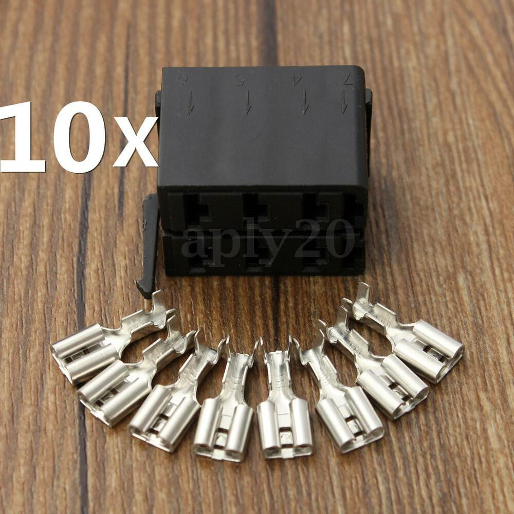 wiring a plug up 10pcs rocker switch wiring connector plug female terminal for arb carling socket   ebay switch wiring a plug for both