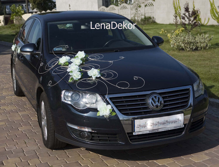 Wedding Car Decoration Ribbon Bows Prom Limousine Decoration