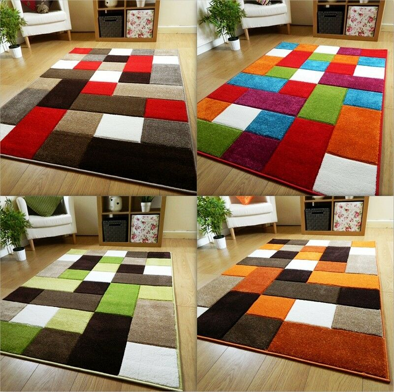 Good Quality Mat Thick Modern Carved Soft Pile Small Floor Rugs Long Mats Uk Ebay