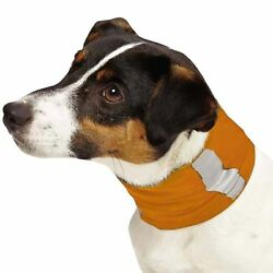Insect Shield Neck Gaiter For Small Dogs ''Orange''  ~ NEW