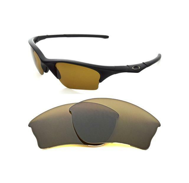 New Polarized Replacement Brown Xlj Lens For Oakley Half