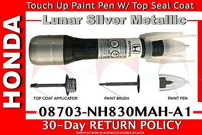 Genuine OEM Honda Touch-Up Paint Pen - NH-830M Lunar Silver Metallic