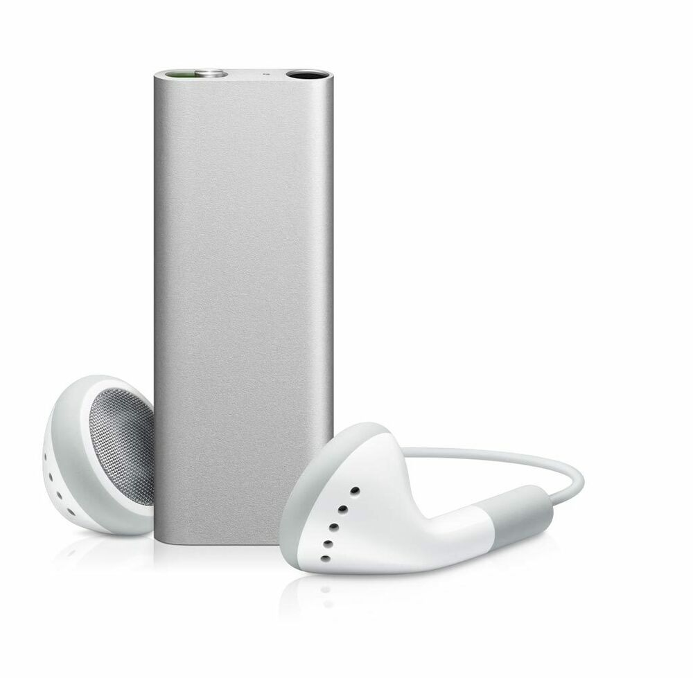 brand new genuine apple ipod shuffle 3rd generation silver. Black Bedroom Furniture Sets. Home Design Ideas