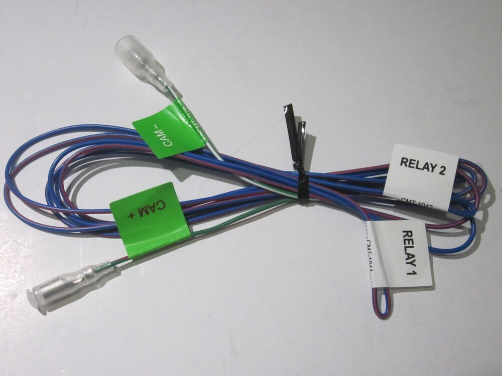 Original Kenwood Dnx7180 Relay 4 Pin Wire Harness Oem New