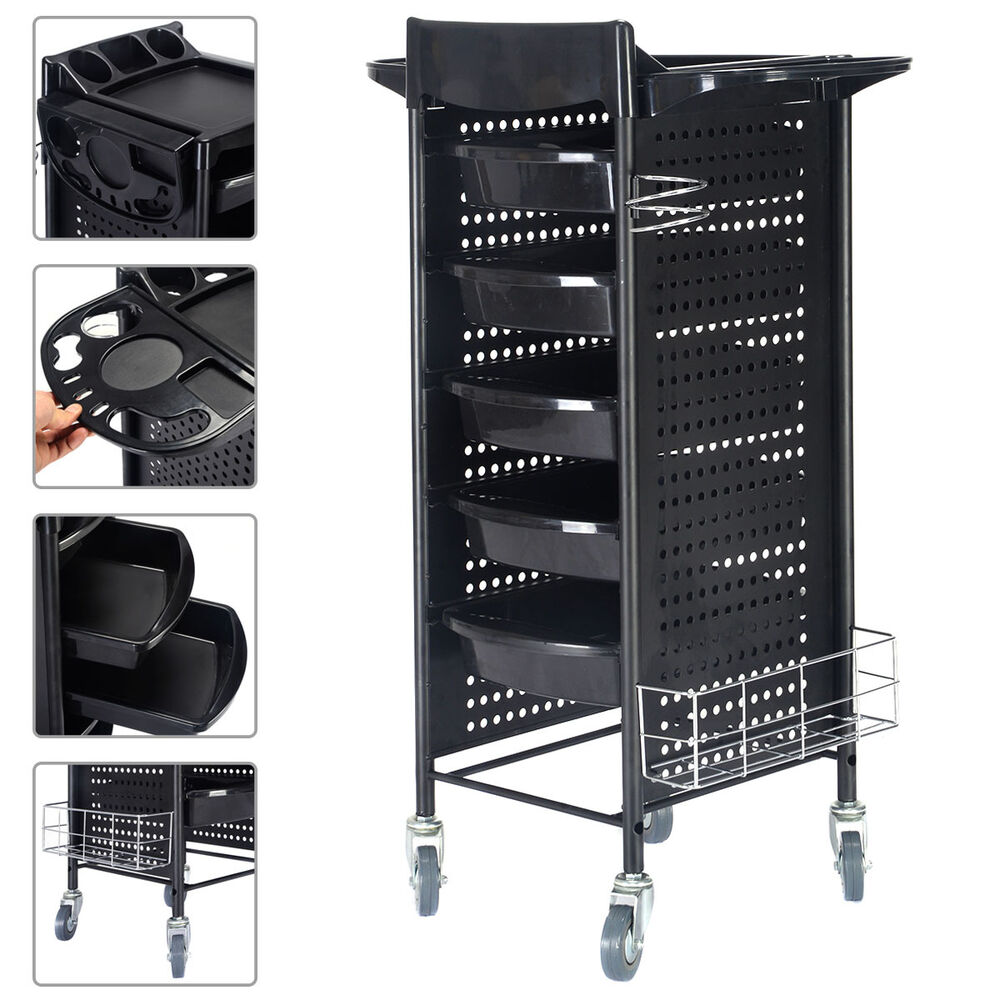 40 beauty salon spa styling station trolley equipment for Salon spa furniture and equipment