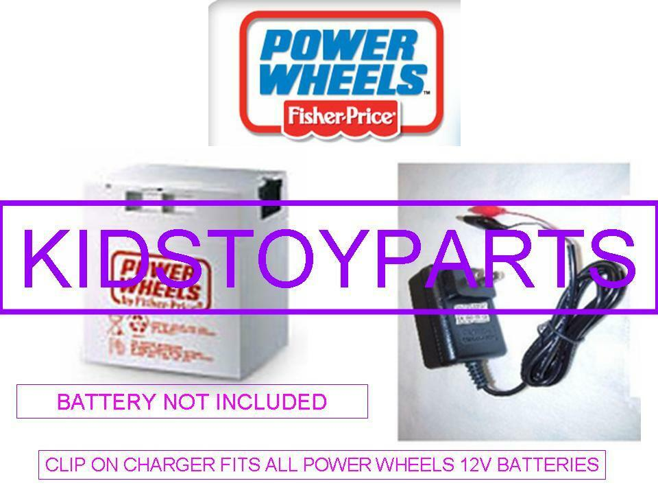 12v Battery Charger Power Wheels Grey Or Orange Jeep F150