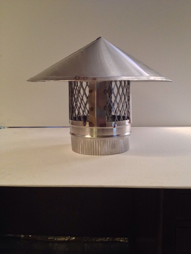 Inch stove pipe stainless steel chimney cap made in