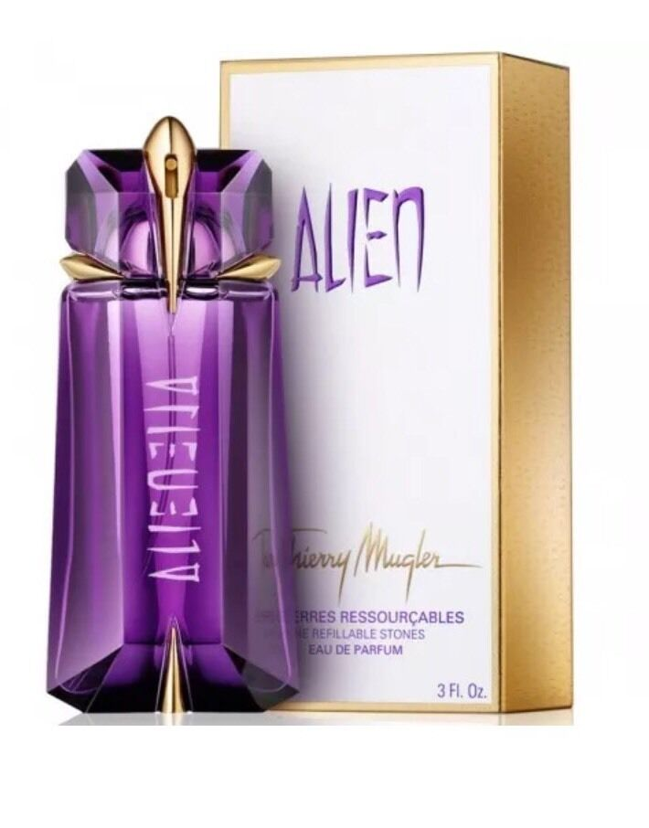 alien by thierry mugler 3 oz 90ml edp spray refillable. Black Bedroom Furniture Sets. Home Design Ideas