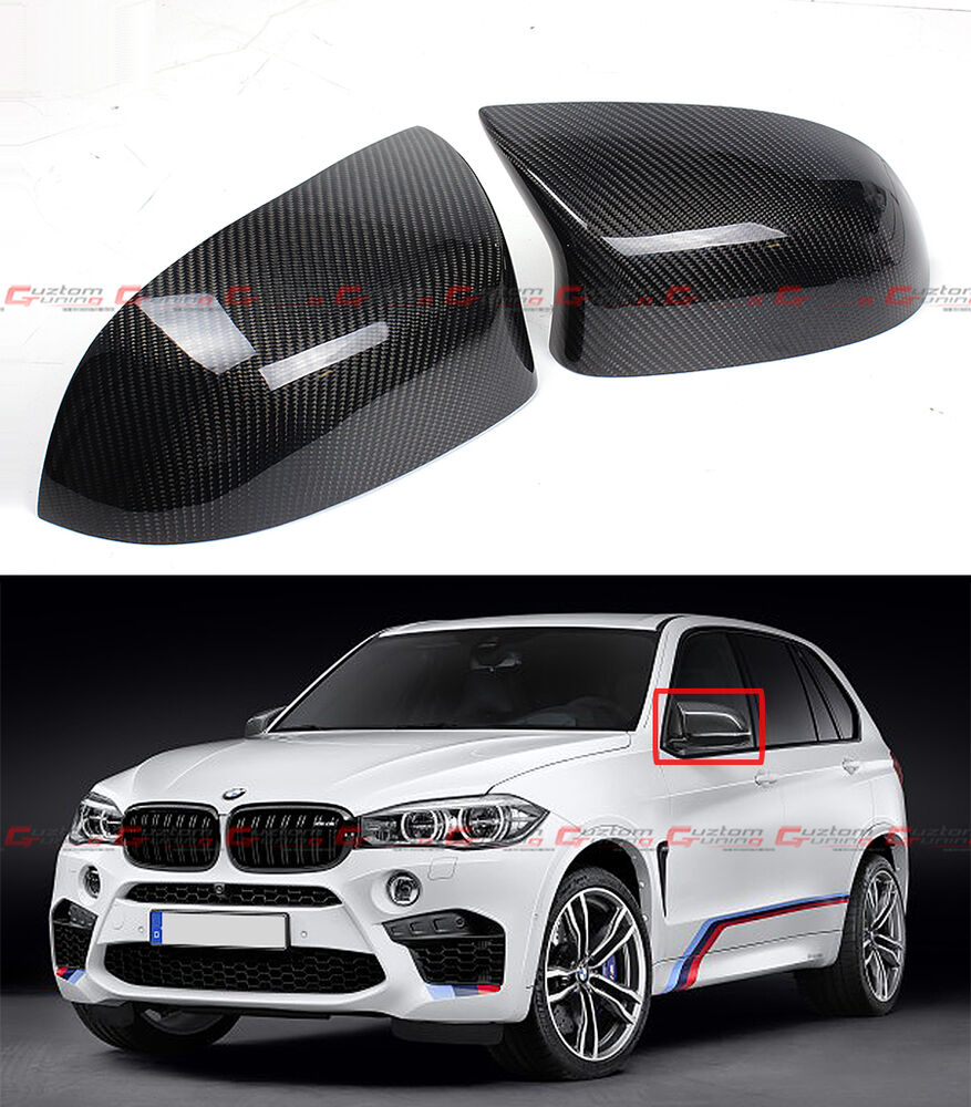 For 2015 17 Bmw F85 X5m F86 X6m Carbon Fiber Side Mirror