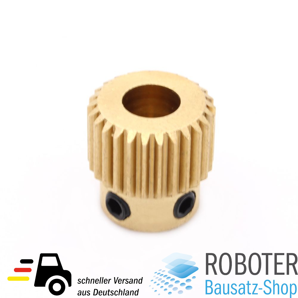 extruder filament vorschubrad zahnrad reprap 3d drucker printer ebay. Black Bedroom Furniture Sets. Home Design Ideas