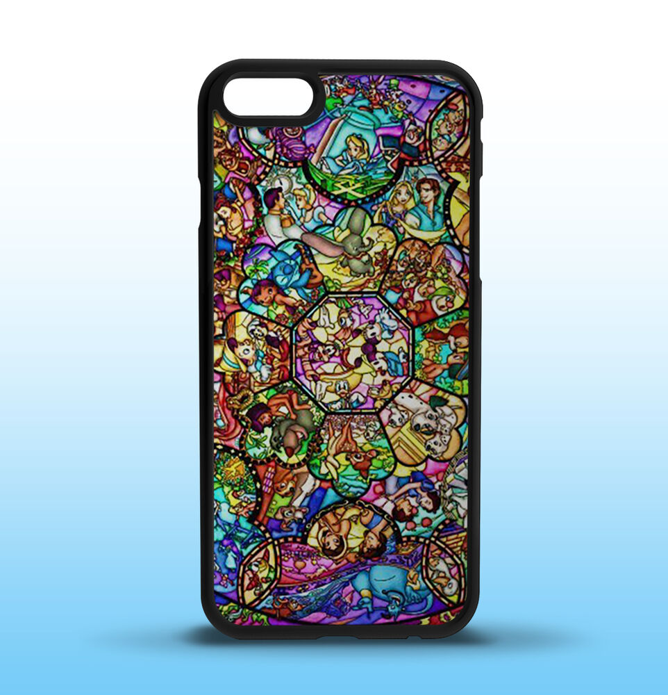 Disney Stained Glass Custom iPhone Case, 5/5S 5C 6/6S 6/6S ...