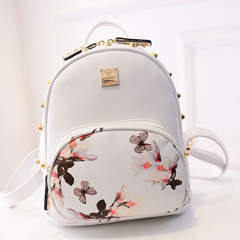 New Girl School Bag Travel Cute Backpack Satchel Women ...