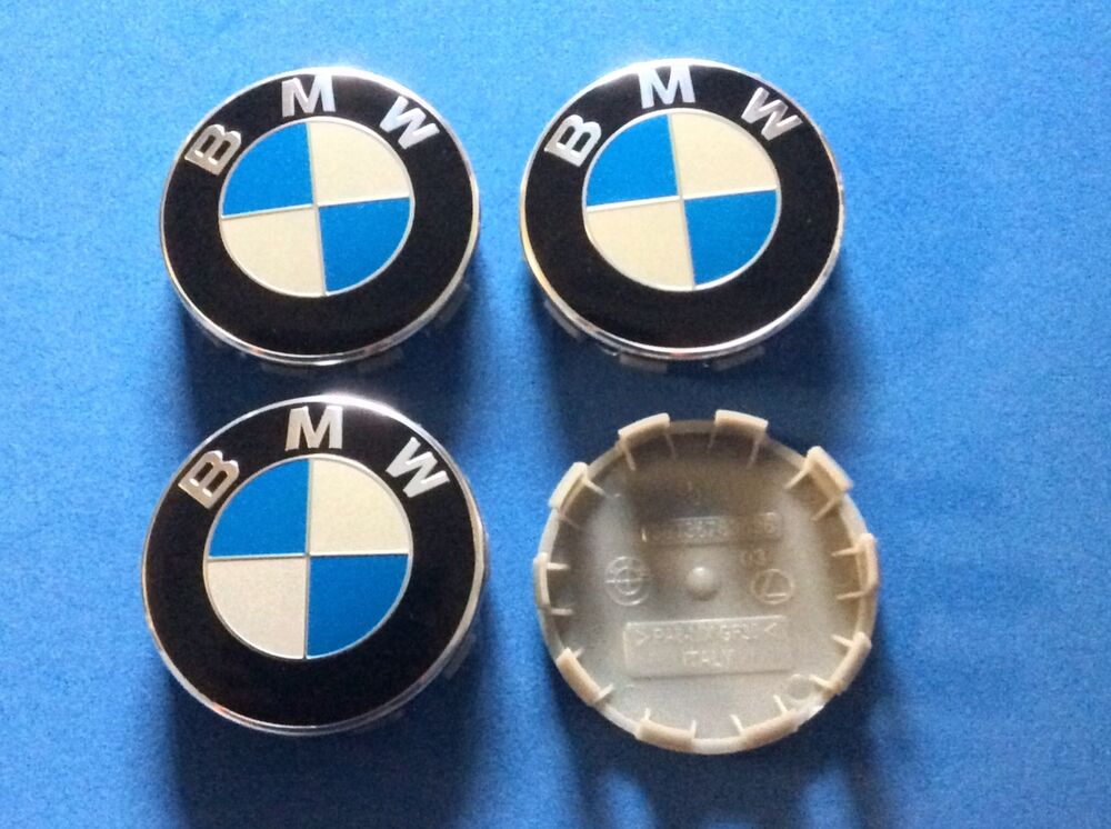 4 Bmw Wheel Center Hub Caps For 3 5 6 7 Series X6 X5 X3 Z3