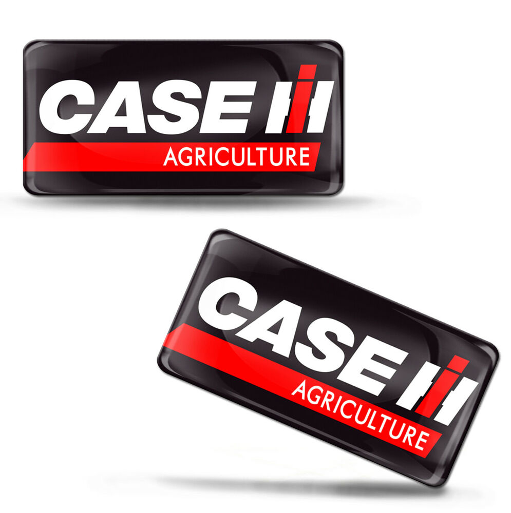 Case Tractor Stickers : Domed d case ih agriculture stickers farmer vehicles