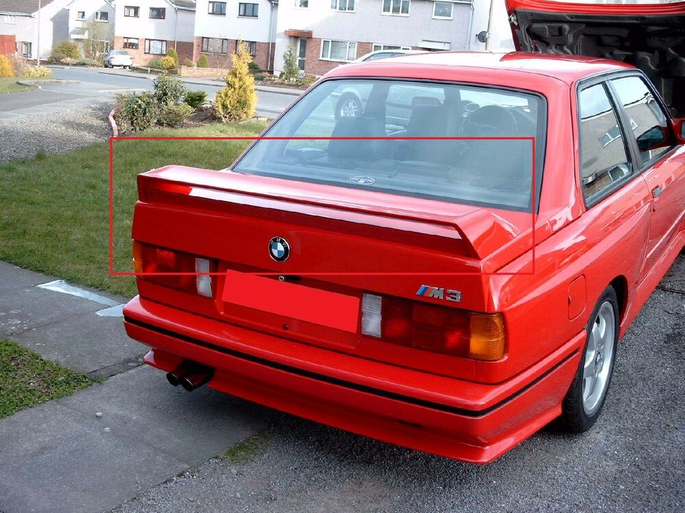 Very Rare 1990 Mercedes Benz 190e 2 5 16 Evolution Ii likewise 162183760967 together with Pandem Aero Bmw E30 besides Do It Differently A Wide Boosted E46 as well VW Passat B7 3C Variant R Line Rear Wing. on e30 rear wing