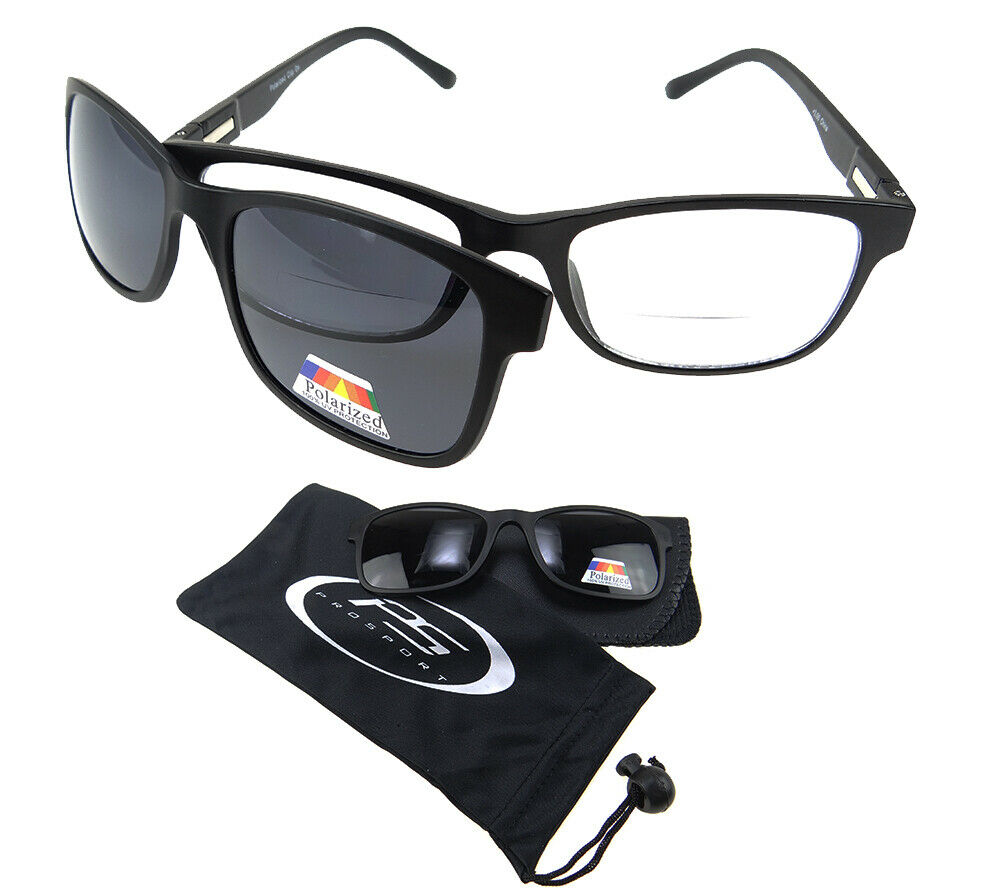 f40c8e998cc Details about Polarized BIFOCAL Sunglass Readers Magnetic Magnet CLIP ON  Fishing 1.0 2.0 3.0