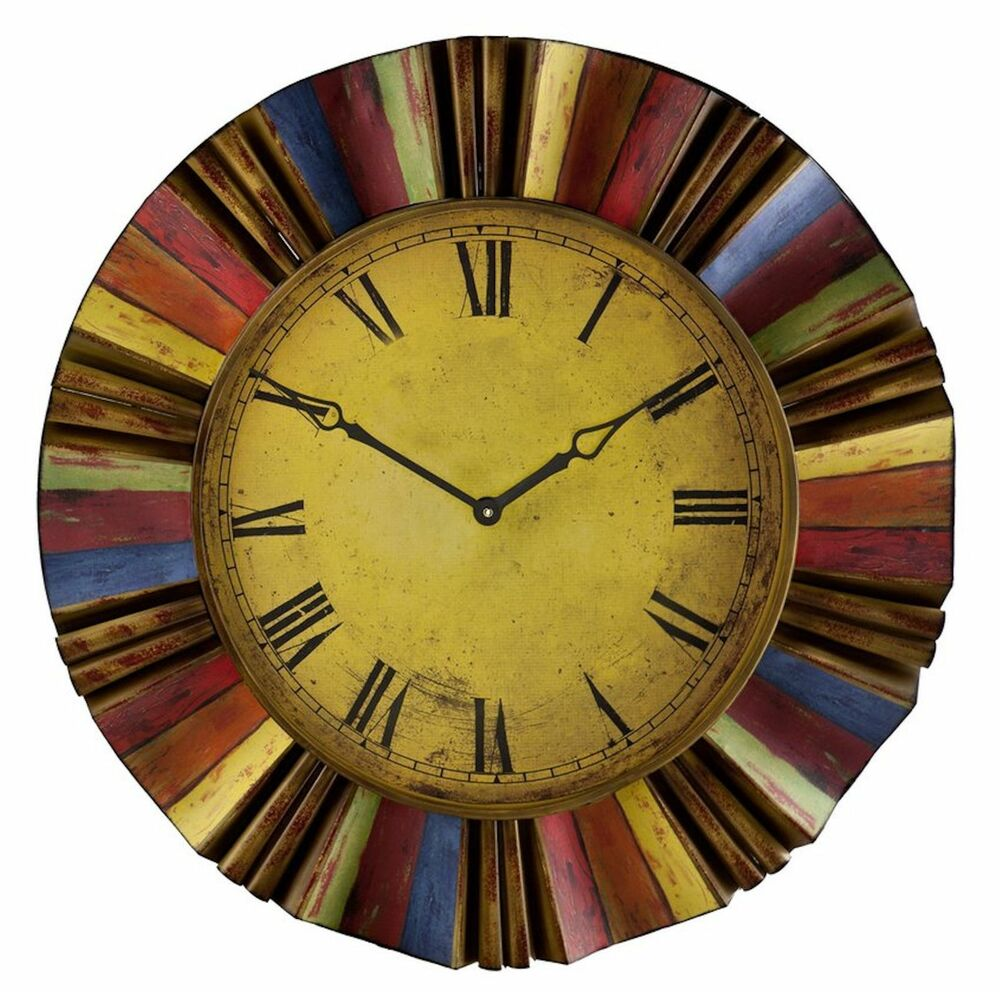 30 5 In Huge Colors Round Wall Clock Modern Big Large